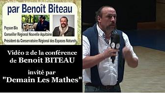 Agroforesterie, la clef des champs cultivés: extrait de la conférence de Benoît BITEAU invité par