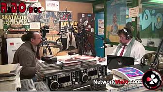 Benoit Biteau et Maximilien Reynès-Dupleix dans l'émission 'Moissac à Coeur' - Radio d'Oc