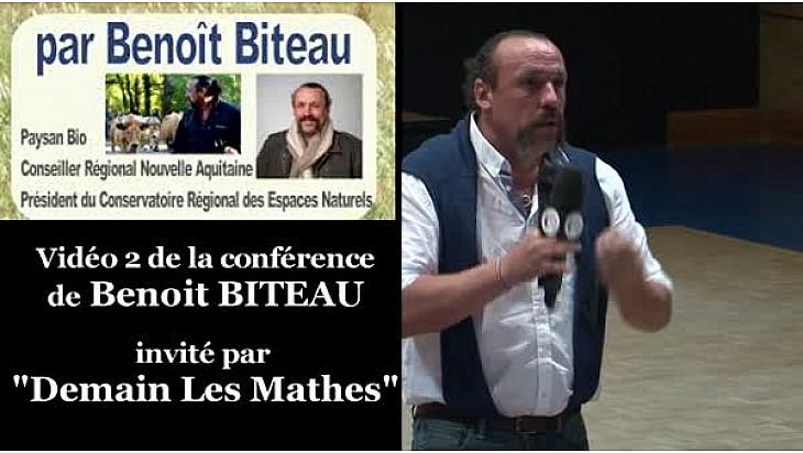 Agroforesterie, la clef des champs cultivés: extrait de la conférence de Benoît BITEAU invité par 'Demain Les Mathes' #Agroforesterie