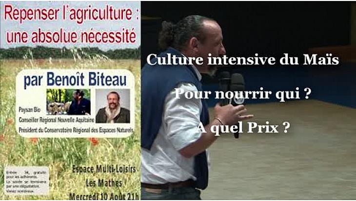 Urgence, des Alternatives Existent, Stop au Scandale de la Culture du Maïs et de l'Irrigation Intensive ...  et surtout à Quel Prix