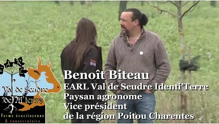Agroforesterie et cultures associées - Benoit Biteau - Paysan agronome et Vice président du Conseil Régional de Poitou Chanrente répond à nos questions